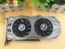 For Colorful GTX650TI BOOST 2G 192bit network Chi host graphics card used