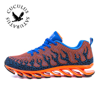 JINBEILE Men Cushioning Running Shoes Men Running Shoes Sports For Runner Athletic Sneakers Men Outdoor Mesh