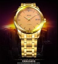 Hot style B8412 hommes de mode montres, haut de gamme creux sur les montres mécaniques, de luxe de mode montres, marque montre d'affaires hommes