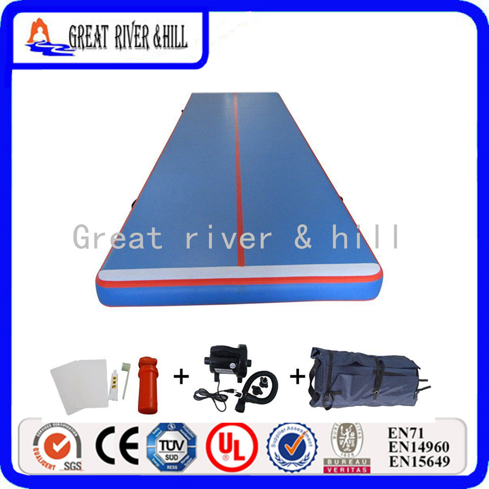 Fedex Shipping 6*2 m Inflatable Air Track Tumbling Inflatable Air Track Gymnastics Gym Air Track