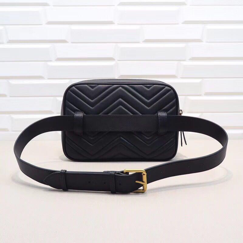 Für Leder Frauen Geldbörse Farbe Weibliche satz Pack Fanny Vintage Tasche Qualität Gürtel Taille Reine trg8r