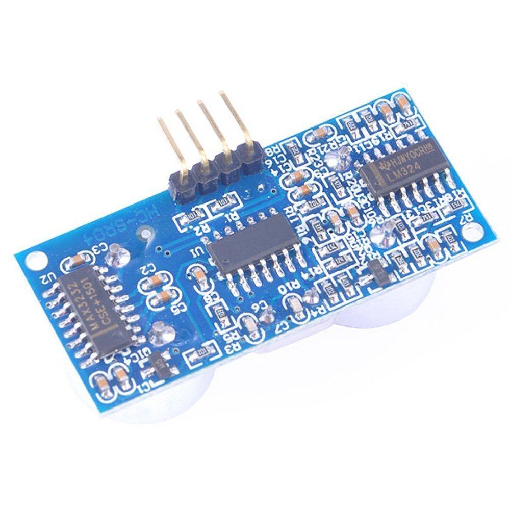 Beste Preis 5 Teile/los Ultraschall-modul HC-SR04 Entfernung Messumformer Sensor für Arduino HC SR04 Sensor Kostenloser Versand