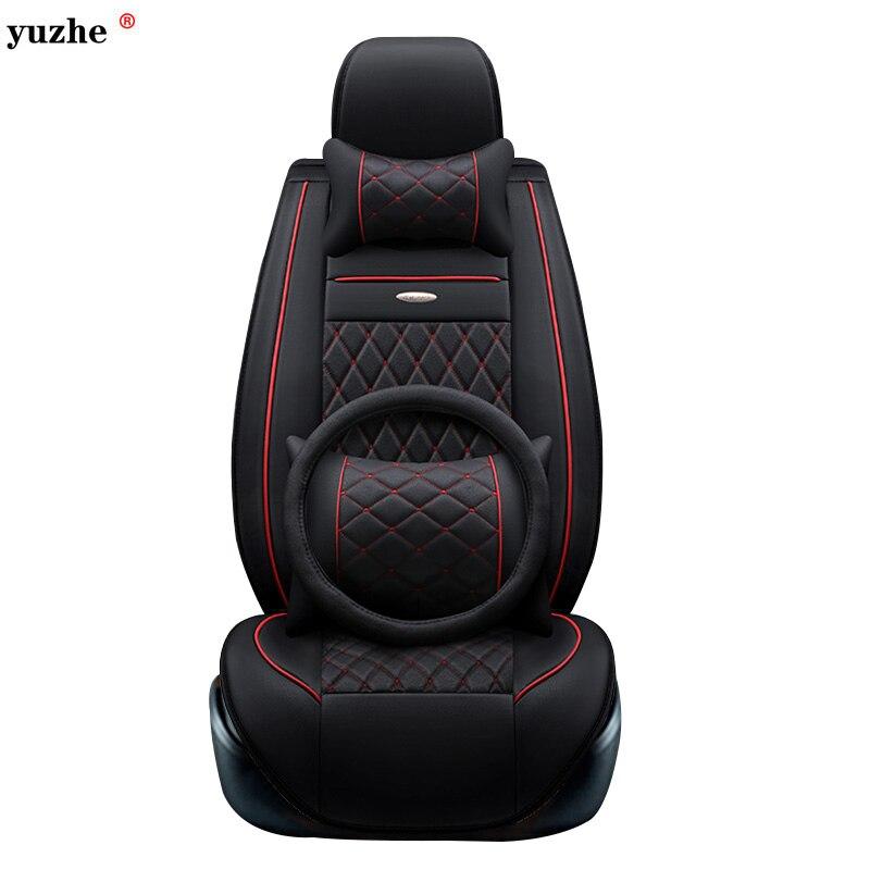 Yuzhe housse de siège de voiture en cuir Pour Toyota Honda Nissan Mazda Lexus Jeep Subaru Mitsubishi Suzuki Kia Hyundai Ssangyong accessoires