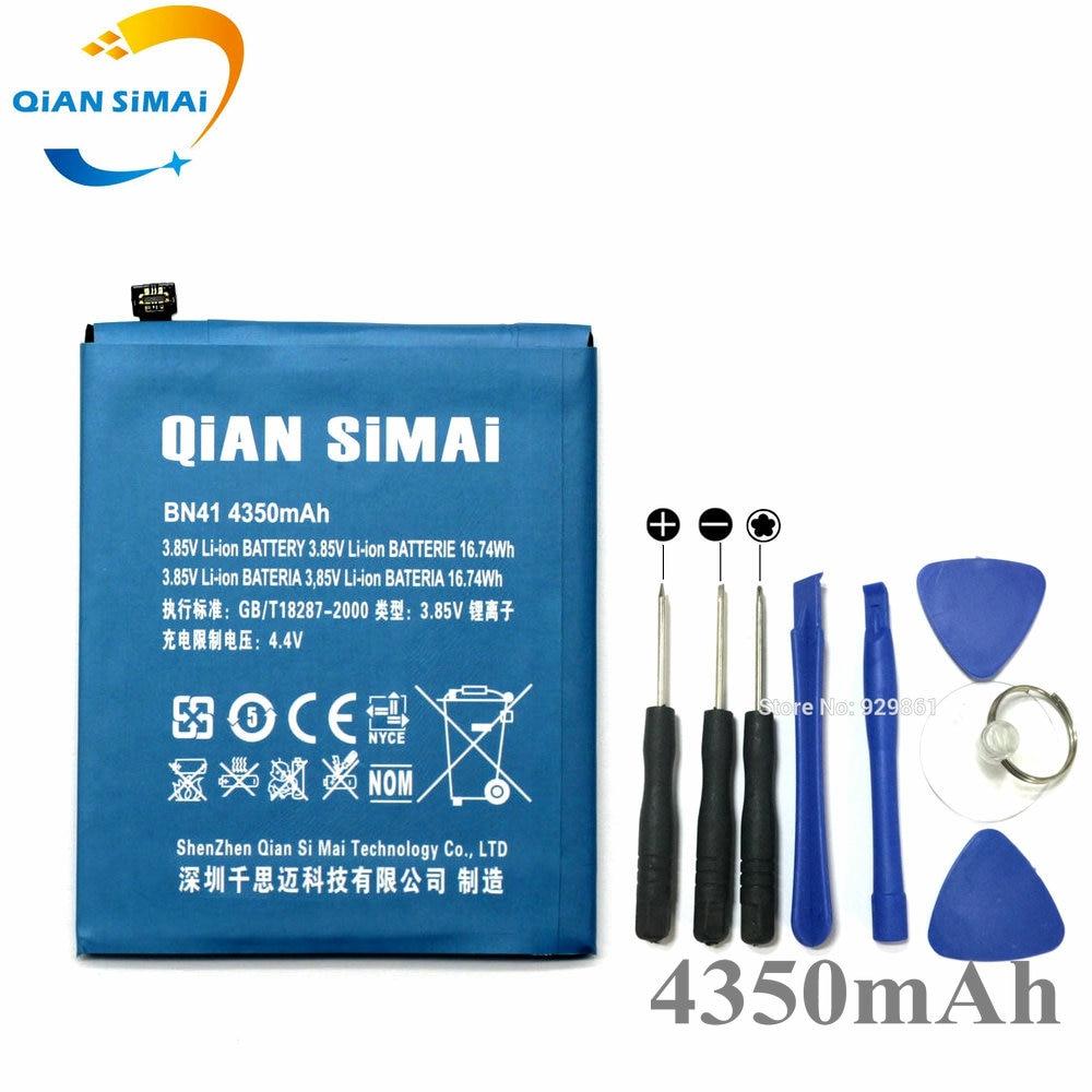 QiAN SiMAi Original 4350mAh BN41 Battery & Screwdriver Tools For Xiaomi Redmi Note 4 MTK Helio X20 \ Redmi Note 4X Pro 4G+64G