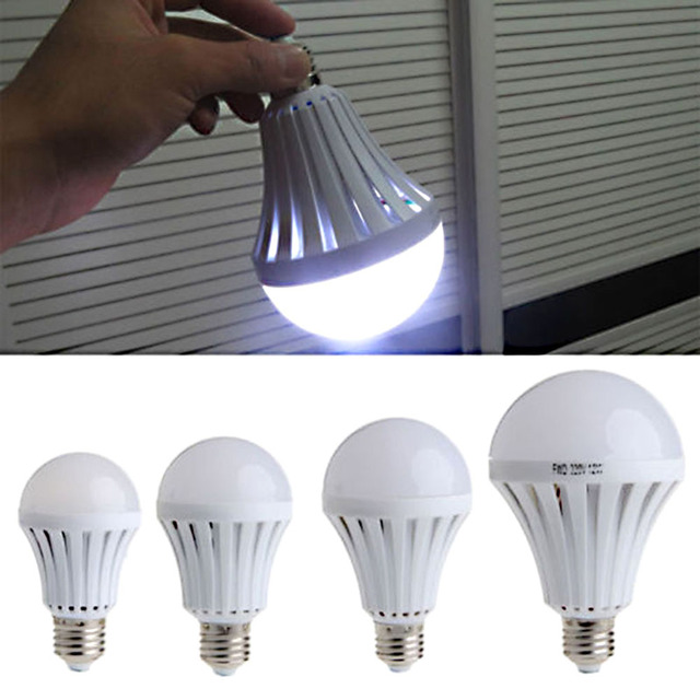 Intelligent E27 Led Bulb Energy Saving Emergency Rechargeable Lamps Lights Household Outdoor Lighting In Bulbs S From