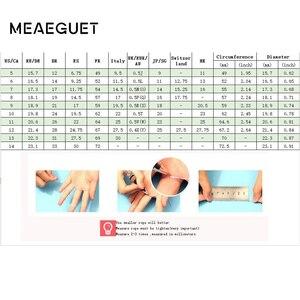 Image 5 - Meaeguet 10mm רחב בציר תפילה Bijoux טבעות לנשים גברים 316L נירוסטה 2 צבעים סיני כתבים בודהיסטים טבעת