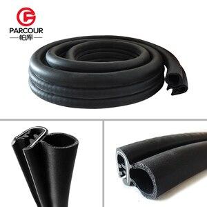 Image 2 - Hoge Kwaliteit 1M Epdm En Staal Noise Isolatie Afdichting Rubber Strip Stalen Plaat Auto Accessoire Onderdak Van Windgeruis