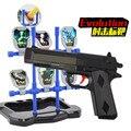 Nueva Versión de la Pistola Con Objetivo Paintball orbeez EVA pistola de bala suave pistola de agua + pistola de agua bomba de doble propósito disparo nerf