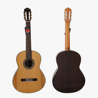 Handmade Vintage Spanish Skills Solid Top Classical Guitar Model SC02ARA With Free Case