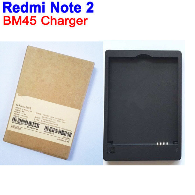 Desktop Battery Chargers Dock Station USB Wall Charger For Xiaomi Redmi Note 2 Hongmi Redrice Note 2 for Original BM45 Battery