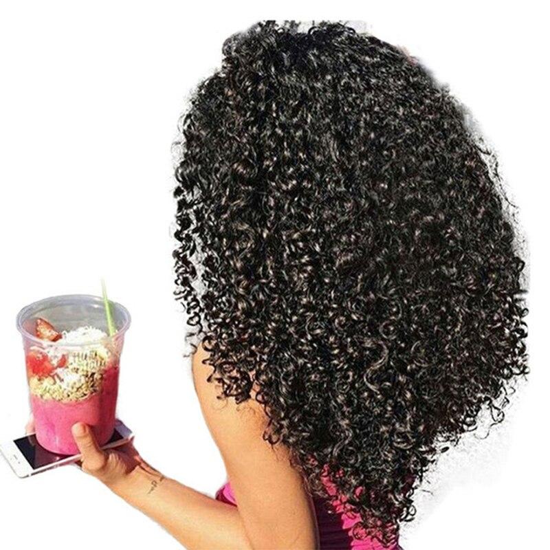 3b 3C странный вьющиеся клип в Пряди человеческих волос для наращивания Мёд Queen Nautral Цвет Клипсы широкие для наращивания волос 7 шт. Волосы Remy 120...