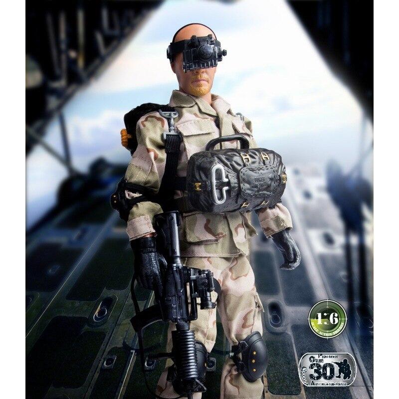 Figuras de acción del soldado de la paz del mundo 1/6 figuras de acción del modelo militar de juguete figura de anime juguetes para niños - 4