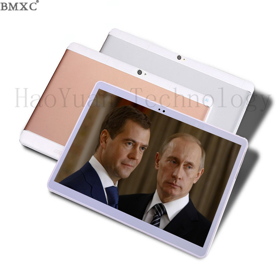 BMXC New Free Shipping 3G 4G Tablet 10 1 inch Metal Call Phone Tablet android tablet