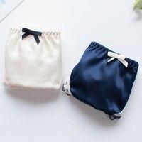 Słodkie japoński kod koloru tkaniny bawełnianej bielizny jasne cerę w niskich Ding komfort słodkie łuk bielizna stringi ciąg