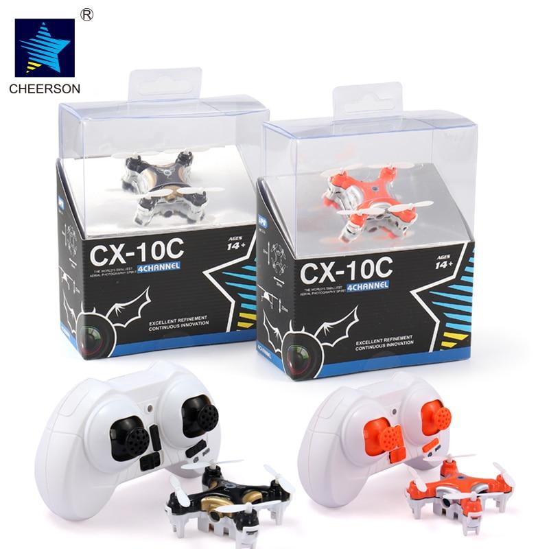 Cheerson cx-10c Copter Дроны с Камера RC Hexacopter Профессиональный дроны Micro Дрон Дистанционное управление Мини Quadcopter