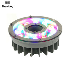 Lightsaber DC24V RGB Led Pool Lighting Fountains Lamp  IP68 Underwater lights Colorful Fountain 9w Landscape
