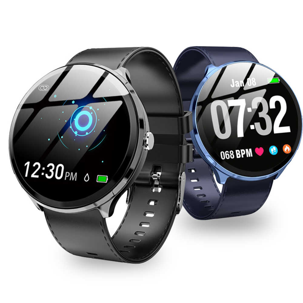 Baru Smartwatch Pria Heart Rate Tekanan Darah Smartband IP67 Tahan Air Olahraga Smart Watch