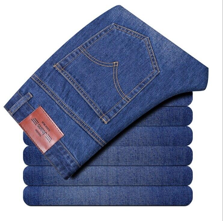 Famous Brand jeans men Men's mannenvaqueros BLUE Slim Denim Casual Biker Jeans Designer Classical Fashion Jean's Men 604 2017 fashion patch jeans men slim straight denim jeans ripped trousers new famous brand biker jeans logo mens zipper jeans 604