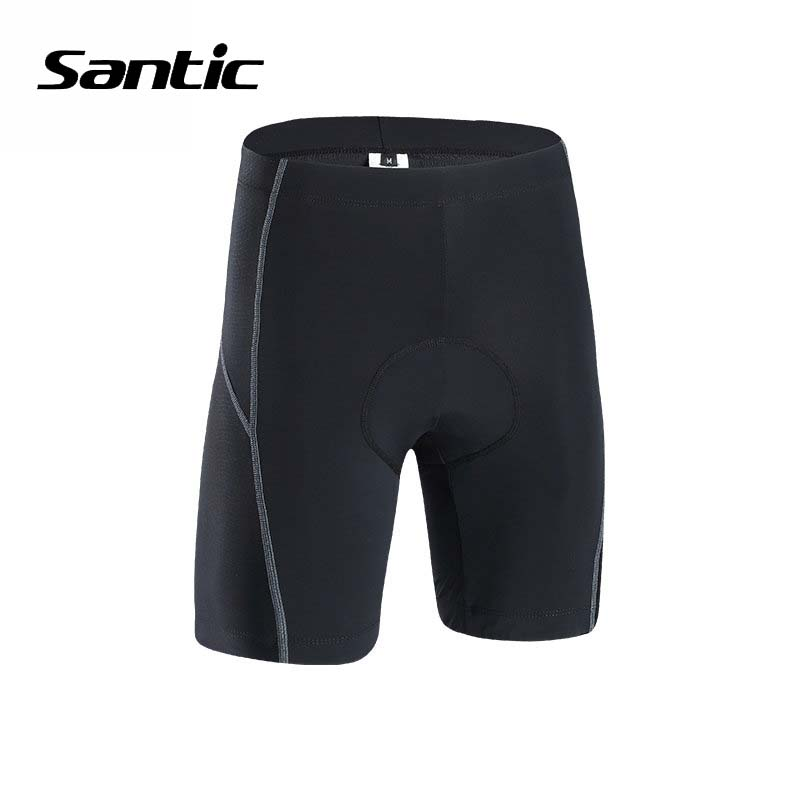 Men/'s Cycling Shorts 4D Coolmax PaddedBicycle Bike Shorts 1//2 Pants Black L-3XL
