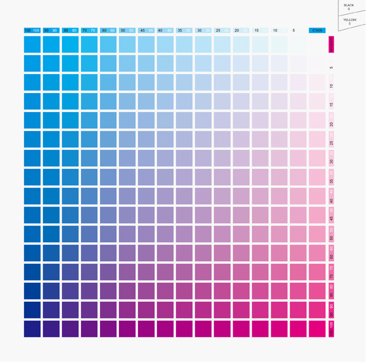 Cmyk Color Chart Book | Coloring Pages