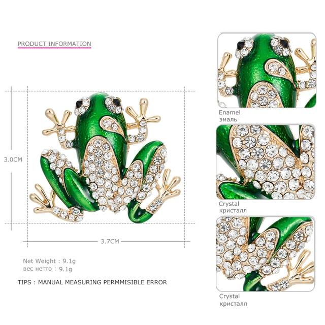 Купить mloveacc новая зеленая брошка с кристаллами эмальта животное картинки