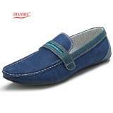 Hot-2014-Summer-New-Man-Driving-Flat-Shoes-British-Style-Men-Denim-Blue-Breathable-Striped-Lined