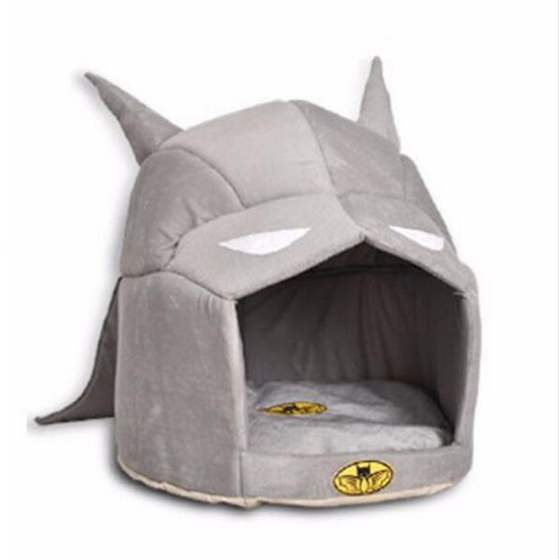Yuyu Dog House Soft Cool Batman Cat Kennel For Small Medium Pets Warm Puppy Nest Bed Beds Pet Supplies In Houses Kennels Pens From