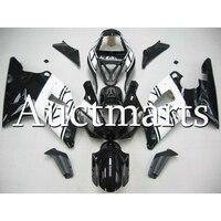 Полный обтекатели комплект YZF R1 2000 2001 год ABS мотоцикла обтекатель для Yamaha YZF R1 01 ABS инъекций капоты белый черный капоты