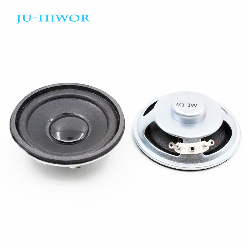 Electronic Components & Supplies Passive Components 2pcs New Ultra-thin Speaker Doorbell Horn Toy-car Horn 16 Ohms 0.5 Watt 0.5w 16r Speaker Diameter 57mm 5.7cm Thickness 10mm Bright In Colour