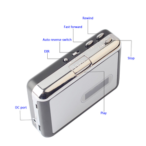 Image 3 - เครื่องเล่นเทปคาสเซ็ทUSB Cassette TapeเพลงเสียงMP3 Converter Recorderเครื่องเล่นบันทึกMP3แฟ้มUSBแฟลช/USBไดรฟ์