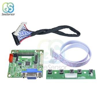 "MT6820-B Universal Pantalla de Monitor LCD controlador de Cable LVDS Módulo de placa de expansión para Arduino con alambre 5V 10 ""-42"""