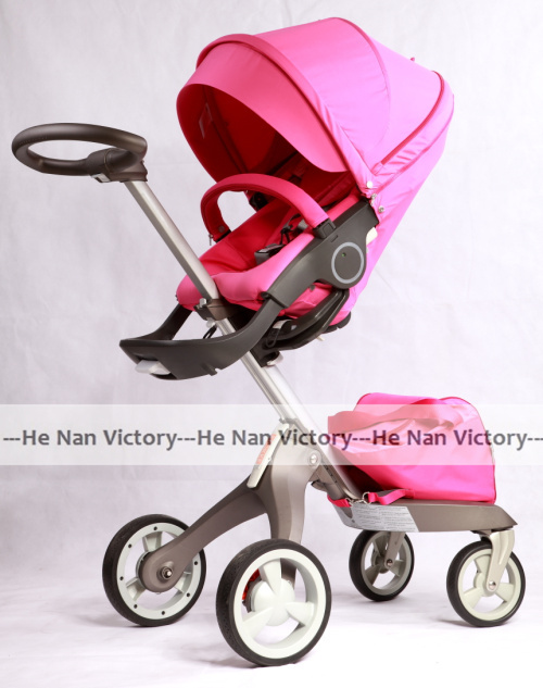 new design pink stokke stroller stokke xplory pram fast delivery stokke xplory baby buggy free. Black Bedroom Furniture Sets. Home Design Ideas