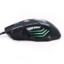 5500 DPI X7 Pro Gaming Mouse+EACH G2000 Hifi Pro Gaming Headphone