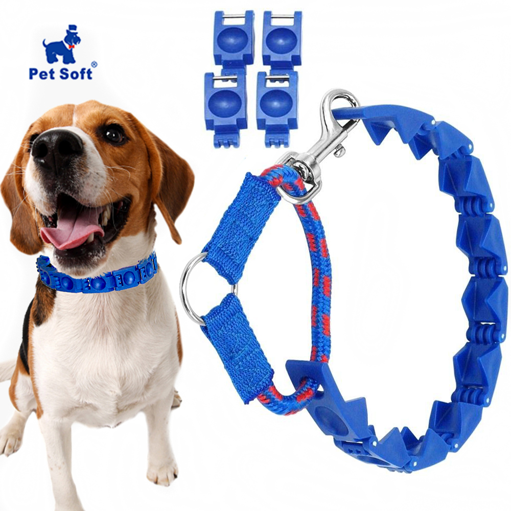 Pet Soft Perfect Dog Command Collar Adjustable Command Training Collar  Training Pets Prong Choke Chain For  Medium/ Large dogs|Collars|Home & Garden - AliExpress