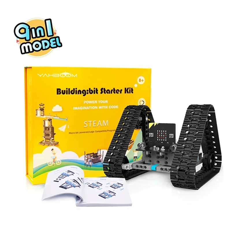 Yahboom building:bit block kit based on micro:bit RC Robot RC TOY