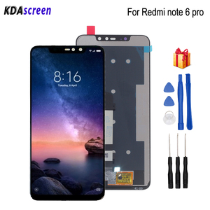 Image 1 - For Xiaomi Redmi Note 6 Pro LCD Display Touch Screen Digitizer Phone Parts For Redmi Note 6 Pro Screen LCD Replacement Tools