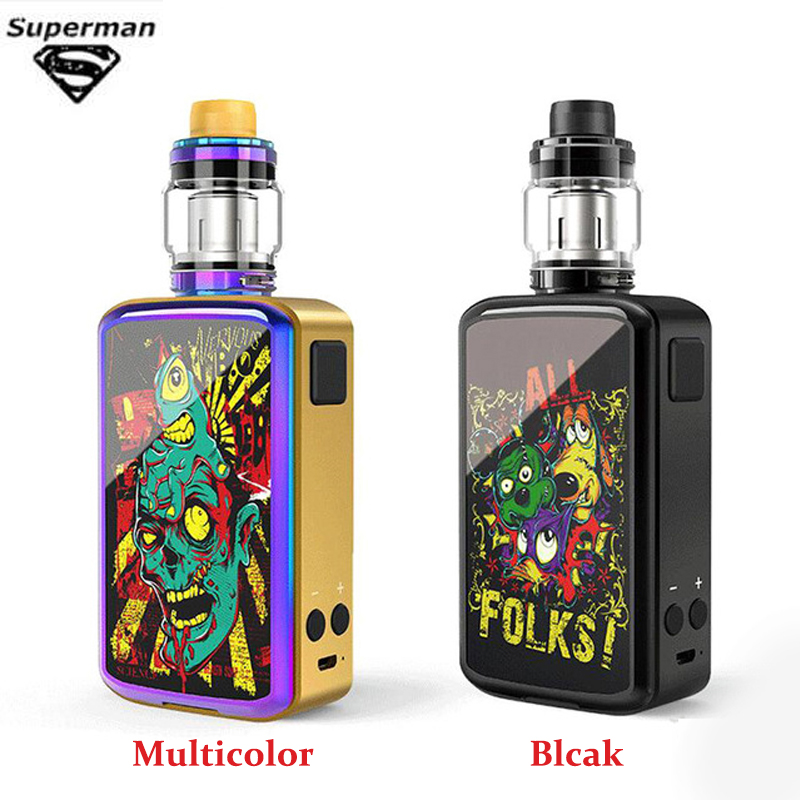 SUB TWO 300w 200w Vape Kit External Battery 0.15Ohm With LED Display E Cigarette Huge 5ML Vapour Cigarette Hookah Kits In Stock