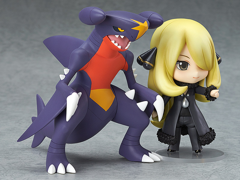 "ФОТО nendoroid monster shirona garchomp #507 pvc action figure toy doll 4"" 10cm pkfg279"