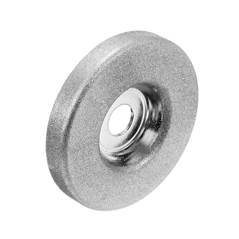 1pc 56mm 180/360 Grit Diamond Grinding Wheel Circle Grinder Stone Sharpener Angle Cutting Wheel Rotary Tool