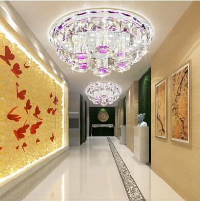 Modern Ceiling Light For Living Room luminarias para sala teto abajur Crystal Ceiling Light Fixture For Bedroom Adjustable light поиграй со мной