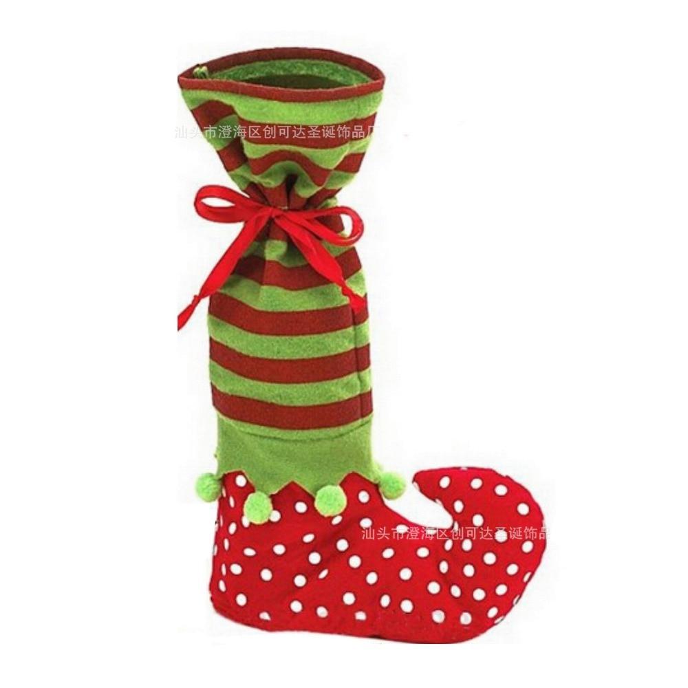 comprar cm x cm medias navidad calcetines del sostenedor del caramelo bolsas adornos navideos decoracin del rbol de navidad para