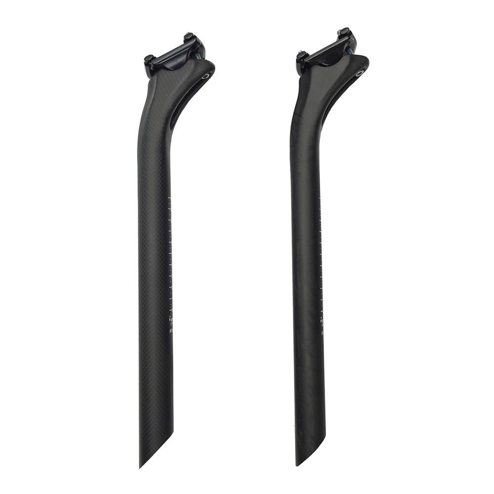 Full carbon fiber bicycle seatpost MTB seatpost Road bike seat tube carbon seat post 27.2 30.8 31.6MM offset 25mm 210g
