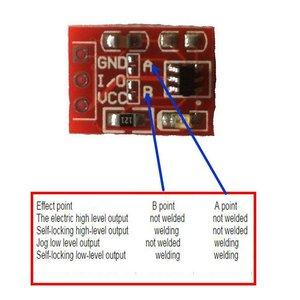 10 шт. TTP223 сенсорный кнопочный переключатель модуль сенсорная кнопка самоблокирующийся без блокировки емкостные переключатели одноканальный для Arduino l8