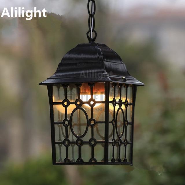 Retro Hanging Light Outdoor Garden Lamp Balcony Decoration Garden