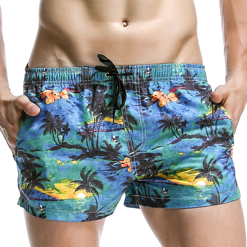 Summer Board Shorts Men Swim Short for Man Beach Sea Swimwear Swimming Trunks Male Bermu ...