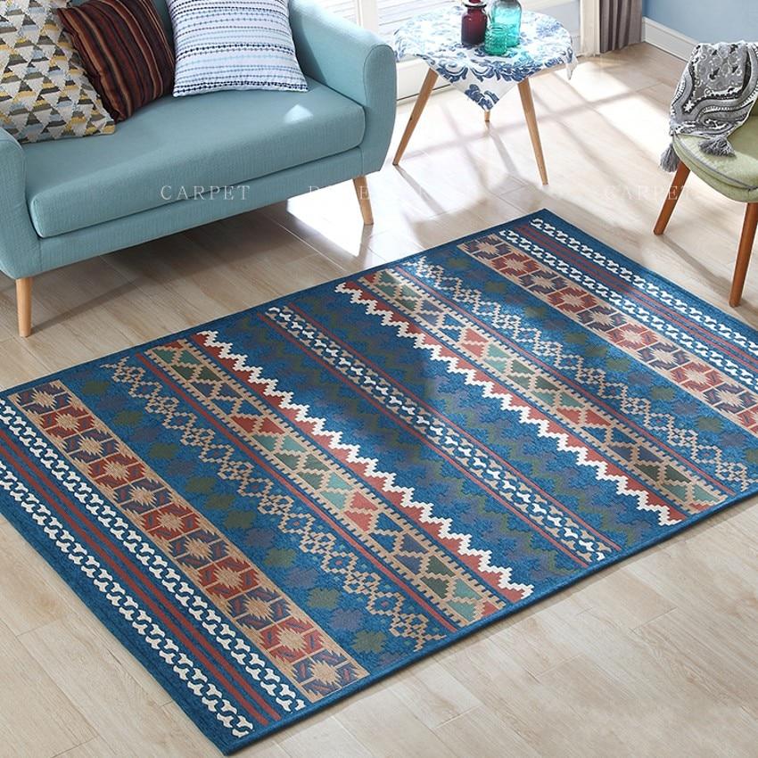 Kelim stil wunderschöne nacht teppich, große größe wohnzimmer tisch teppich, Amerikanischen stil zu hause dekoration boden matte-in Teppich aus Heim und Garten bei  Gruppe 1