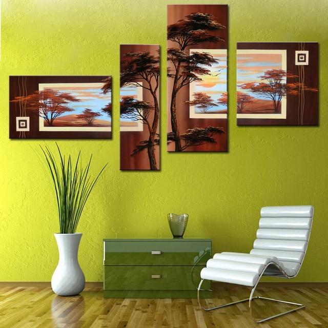 High Skill Artists 100% Handmade Beautiful Landscape Oil Painting ...