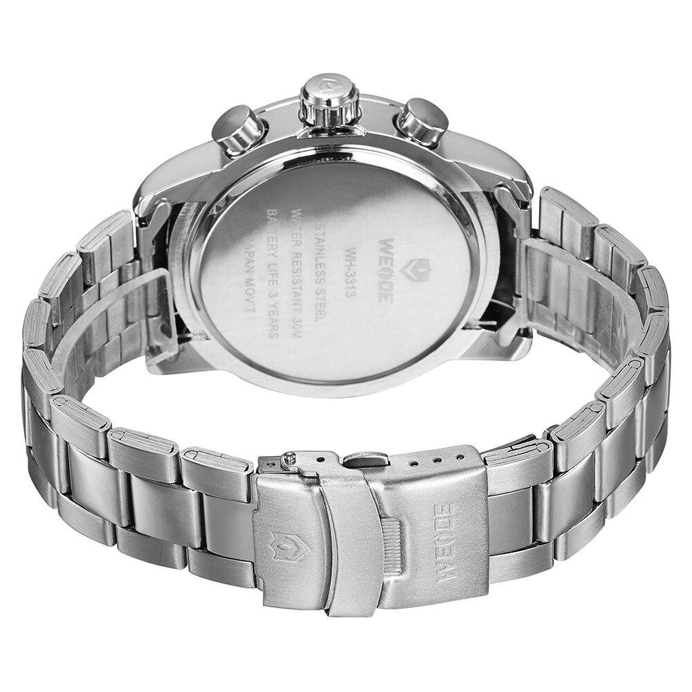 Weide 2017 topquartz reloj deportivo reloj casual genuino papel de - Relojes para hombres - foto 4
