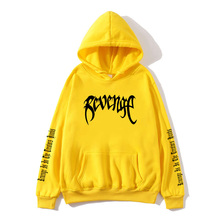 Xxxtentacion Revenge Hoodies Men/Women Sweatshirts Rapper Hip Hop Hooded Pullover sweatershirts male/Women Streetwear