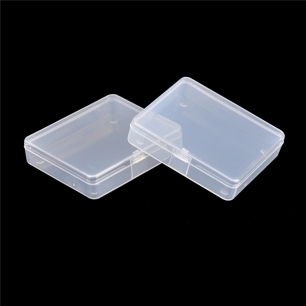 Hot Selling 2pcs Transparent Toolbox Electronic Plastic Parts